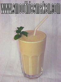 Perzik recept verwerkt tot een lekker fruit smoothie