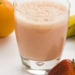 Banaan sinaasappel smoothie: zelfs zonder blender klaar in 5 minuten